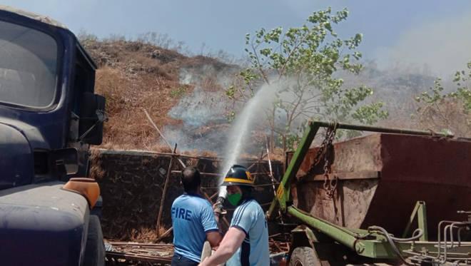 कल्याण डम्पिंग ग्राऊंडची आग २४ तासानंतर आली आटोक्यात