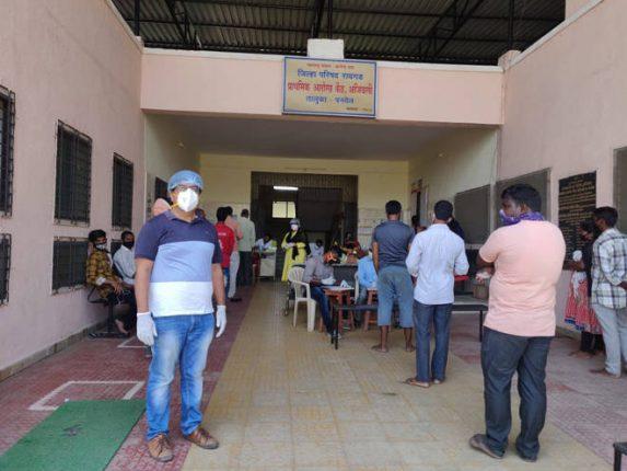 आजीवली प्राथमिक आरोग्य केंद्रातून तीन दिवसांमध्ये परराज्यातील २२०० नागरिकांना वैद्यकीय दाखले