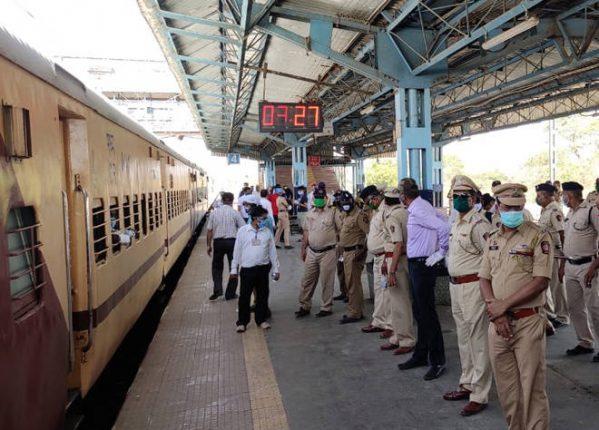 भिवंडीतून आजमगढ उत्तर प्रदेशसाठी विशेष श्रमिक ट्रेन आज रवाना