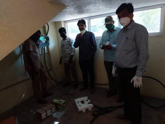 कल्याणमधील कोरोना तपासणी लॅबची चार तासाच्या आत महावितरणकडून वीजजोडणी पूर्ण