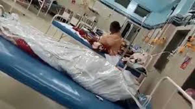 राजावाडी रुग्णालयातील व्हायरल झालेल्या चित्रफितीविषयी रुग्णालयाने दिले स्पष्टीकरण