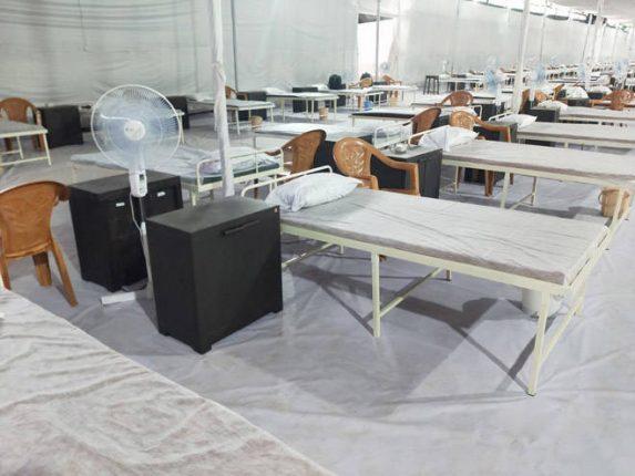 """रीचर्डसन आणि क्रुडास कंपनीच्या परिसरात महापालिकेचे १ हजार बेडच्या क्षमतेचे """"जंबो फॅसिलिटी"""" कोविड उपचार केंद्र"""