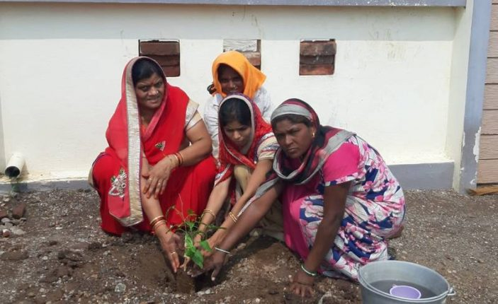 सन्मित्र क्रीडा मंडळातर्फे वृक्षारोपणाचा पंधरवडा साजरा