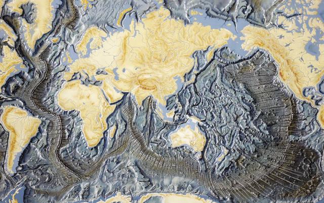 पृथ्वीच्या महासागराच्या तळाचा एक पंचमांश नकाशा तयार करण्यात यश