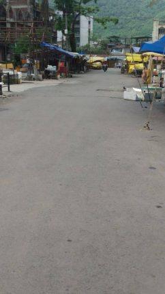 कोरोनाच्या प्रादुर्भावामुळे धाटाव बाजारपेठ तीन दिवस बंद ठेवण्याचा निर्णय