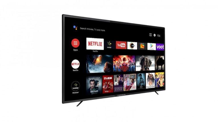 थॉमसनचा अँड्रॉइड टीव्ही लाँच, किंमत १०,९९९ रुपयांपासून सुरू