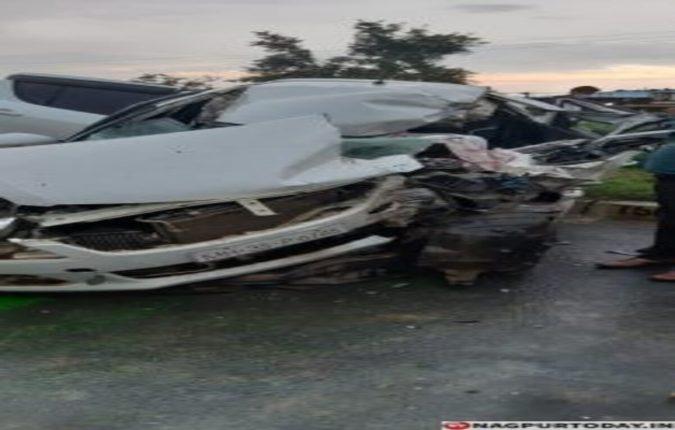 महामार्गावर भीषण अपघात : एक ठार