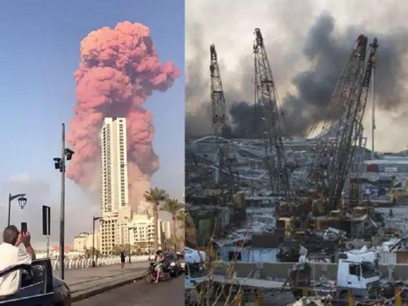 लेबनानच्या राजधानीत भीषण स्फोट, ४००० पेक्षा जास्त नागरिक जखमी