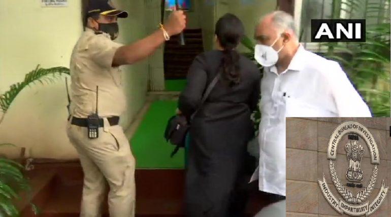 सीबीआयचे अधिकारी वांद्रे पोलिसांना भेटले, कागदपत्रे केली जमा