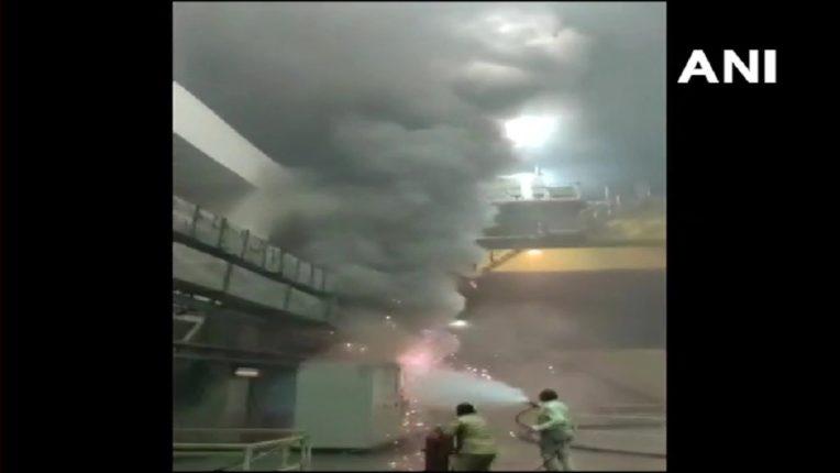 तेलंगणामध्ये हायड्रोइलेक्ट्रिक पावर स्टेशनला भीषण आग, ९ जण अडकल्याची शक्यता