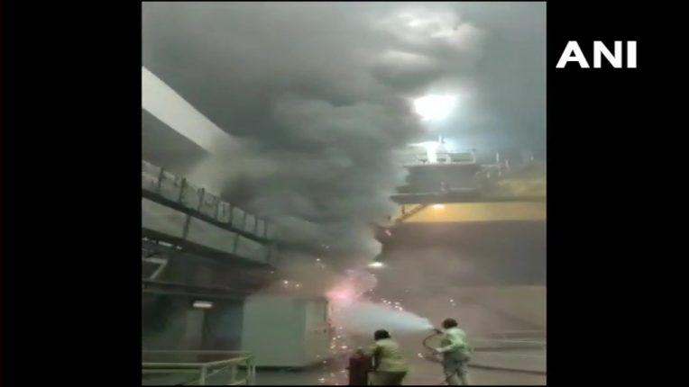 श्रीशैलम जलविद्युत प्रकल्पात लागलेल्या आगीत ९ जणांचा होरपळून मृत्यू