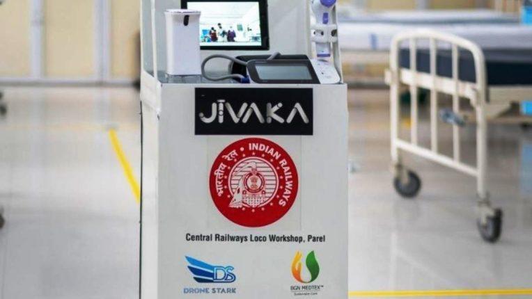 'जिवाका' रोबोट करणार कोरोनाला अटकाव