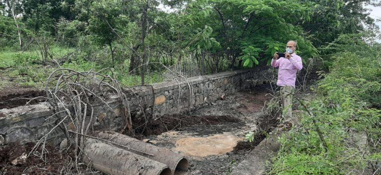 कुरकुंभ : विषारी सांडपाणी शेतात ; प्रदूषण नियंत्रण मंडळाकडून कारवाईचे गाजर