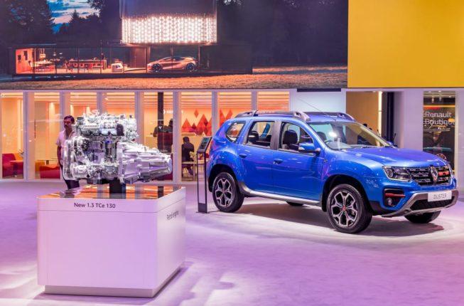 Renault Duster : रेनो'ची 1.3L टर्बो पेट्रोल इंजिनसह डस्टर लाँच