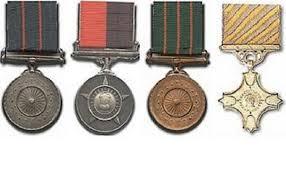 सैन्य दलातील गॅलेंट्री पुरस्कार जाहीर