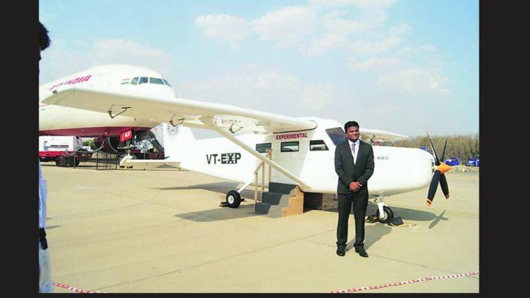 संपूर्ण भारतीय बनावटीच्या विमानाची पहिली चाचणी यशस्वी; यादव यांच्या प्रयत्नांना यश