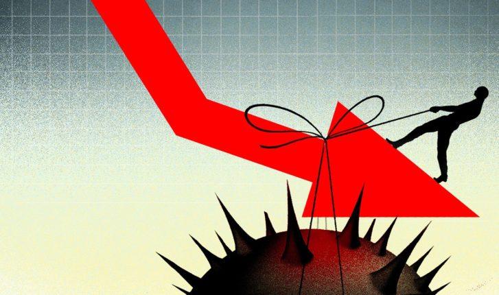 अर्थव्यवस्थेची घसरगुंडी चिंता वाढविणारी