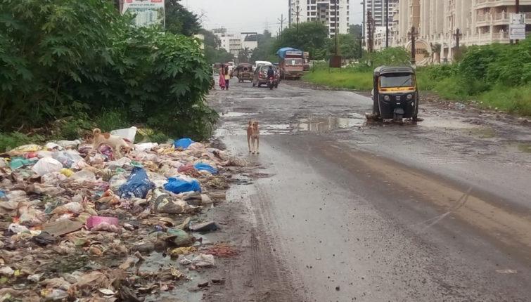 कल्याण ग्रामीण भागात वाढतायत कचऱ्याचे ढिगारे