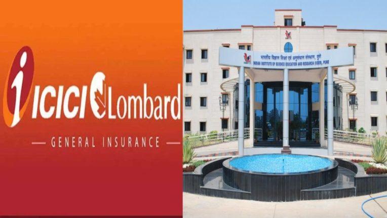 ICICI Lombard कडून पुणे आईआईएसईआरला कोविड-१९ टेस्टिंग यंत्रांसाठी आर्थिक मदत