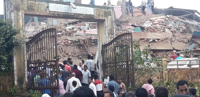 क्रेडाई महाडकडून बिल्डिंग दुर्घटनेचा निषेध