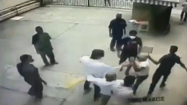 retired navy officer beaten by shivsena