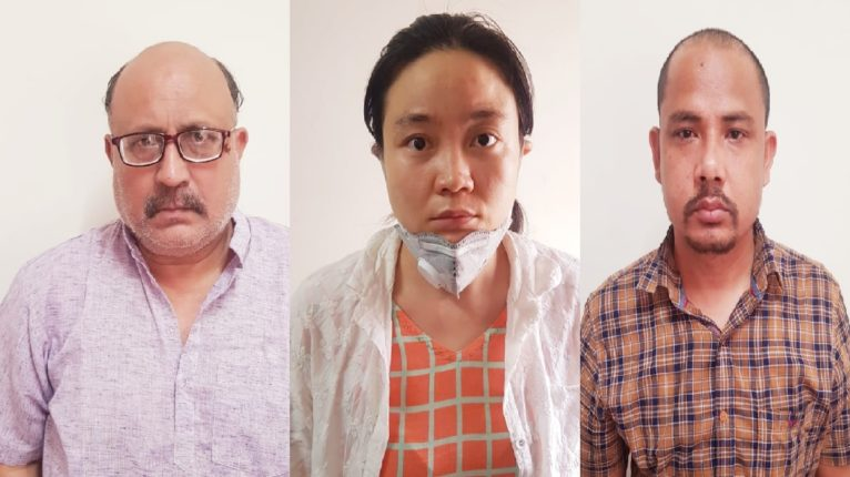 3 arrested in spying with china
