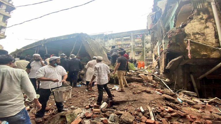 bhivandi building accident