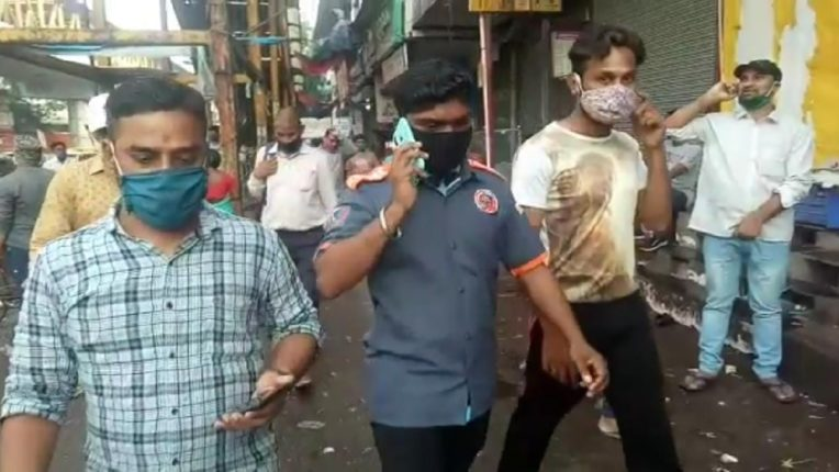 mns activist arrest cleanup marshal