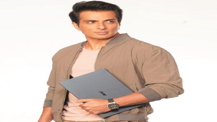 sonu sood Acer India's Brand Ambassador