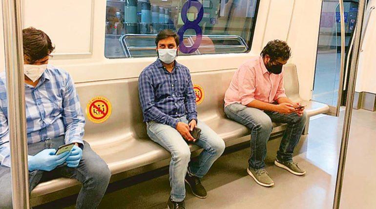 दिल्लीमध्ये ३ टप्प्यात सुरु होणार मेट्रो सेवा, काही स्थानके राहणार बंद