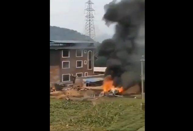 चीनला मोठा झटका, तैवाननं चीनचे सुखोई-३५ लढाऊ विमान पाडलं
