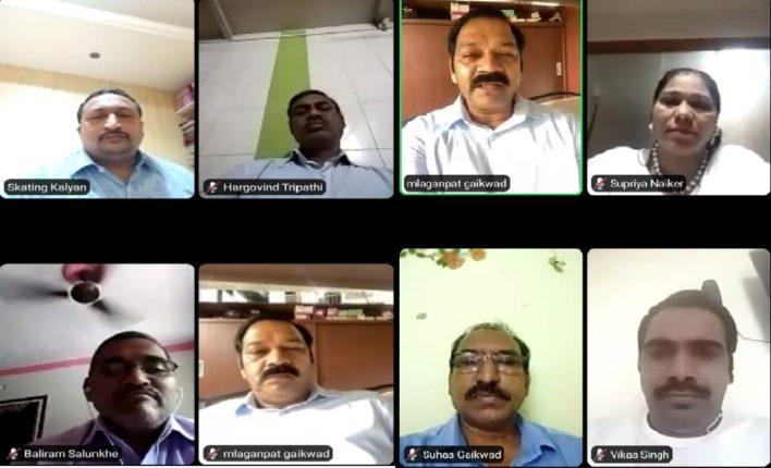 कल्याण पूर्वेत शिक्षकांशी ऑनलाइन संवाद साधून केला शिक्षक दिन साजरा