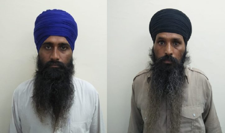 दिल्ली पोलीसांची मोठी कारवाई, दोन दहशतवाद्यांच्या आवळल्या मुसक्या