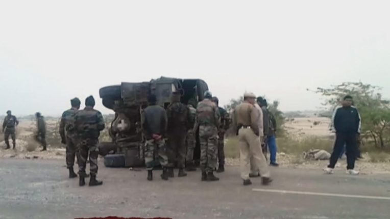 Ammunition seized in truck