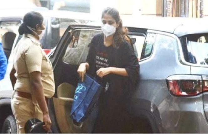 riya arrested in drug angle