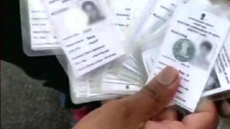 bogus voting card