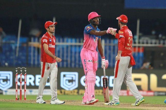 IPL2020: राजस्थान रॉयल्सची ऐतिहासिक कामगिरी ; किंग्ज इलेव्हन पंजाबच्या तोंडाशी आलेला घास पळवित मिळवला विजय