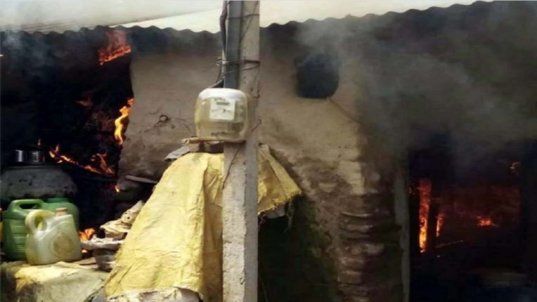 Fire to House because of LPG Cylinder leakage