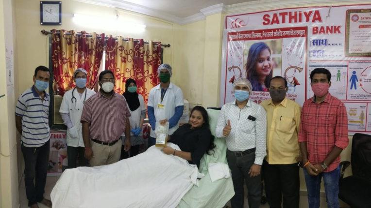 dhanashree plasma doner of palghar