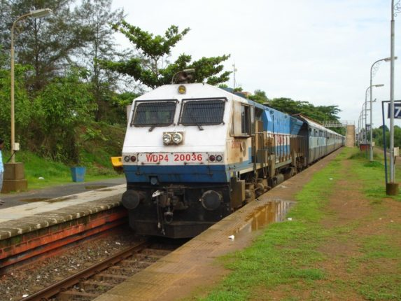 Special train from Dadar to Sawantwadi Road
