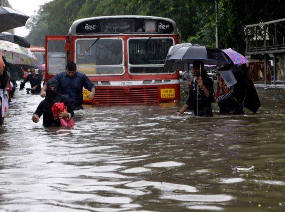 months worth rain just twelve hours mumbaikars have suffered