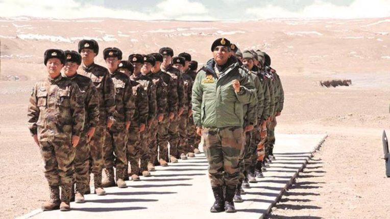 भारत-चीन सीमेवर चीनकडून घुसखोरीचा प्रयत्न; भारतीय जवानांकडून प्रत्युत्तर