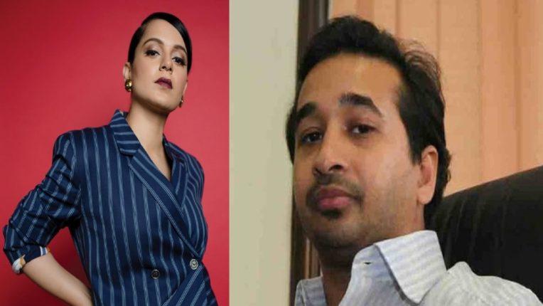 'कंगना तो एक बहाना है', नितेश राणे