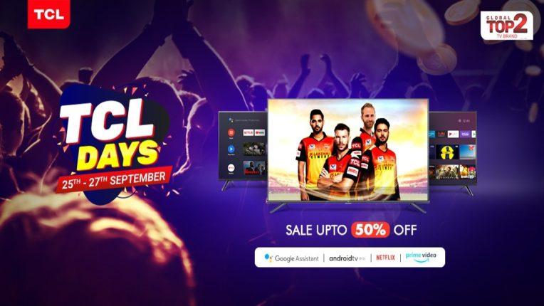 TCL TV Days sale on Amazon