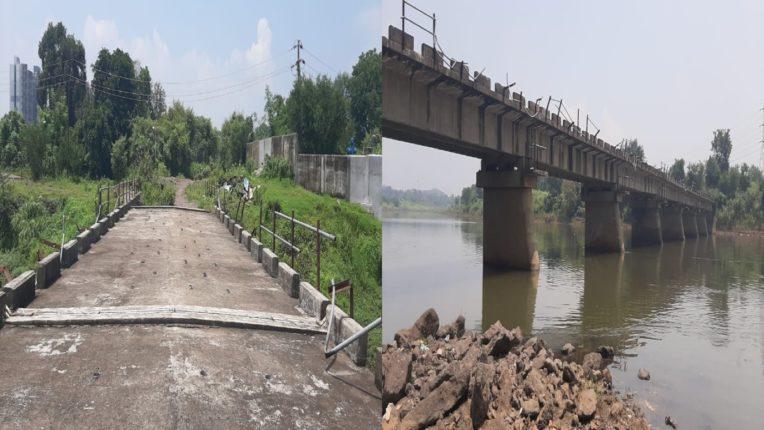 मोहेली वरप दरम्यान उल्हासनदीवरील पूल बांधून तयार; पण ३ वर्षांनंतरही जोडकाम अपूर्ण असल्याने वाहतुकीची प्रतिक्षाच