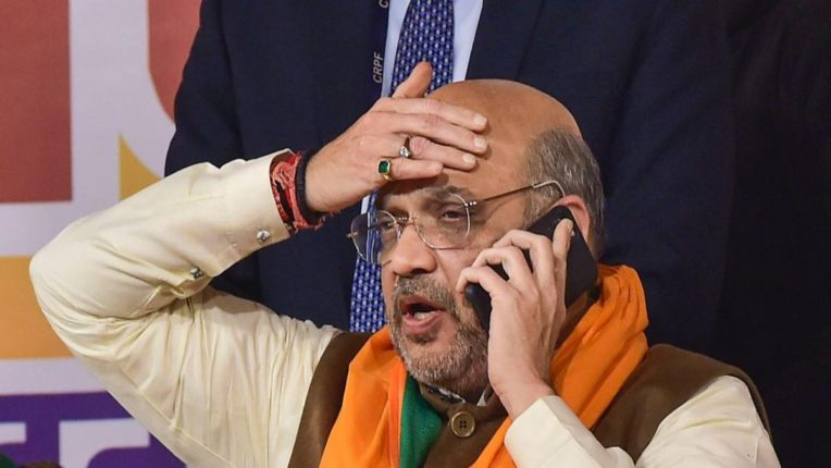 union home minister Amit Shah health deteriorated again admitted to AIIMS delhi