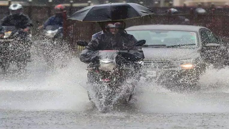 कराडमध्ये मुसळधार पाऊस; ८८ मिमी पावसाची नोंद