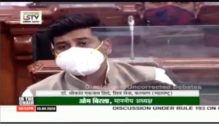 खाजगी डॉक्टरांनाही ५० लाखाच्या विम्याच कवच द्यावे : खासदार डॉ. श्रीकांत शिंदे