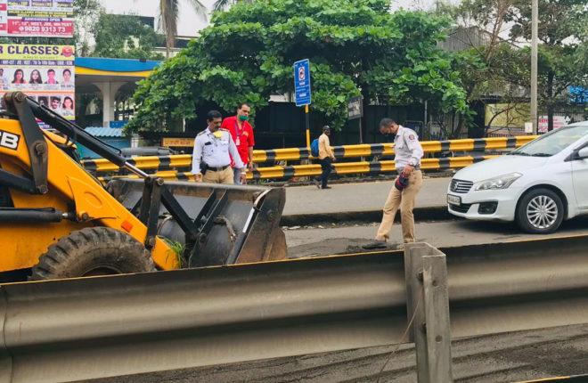traffic police panvel
