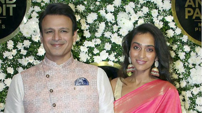 vivek oberoy and his wife